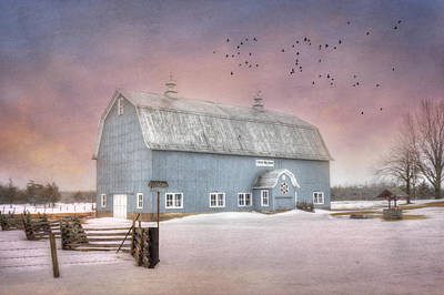 Dickey Hill Farm Poster by Lori Deiter