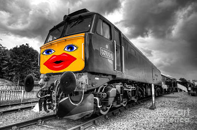 Diesel Lips  Poster by Rob Hawkins