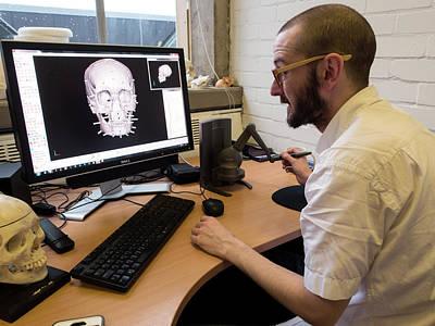 Digital Forensic Facial Reconstruction Poster