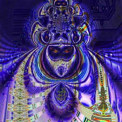 Digital Loop Entity Poster by Jason Saunders