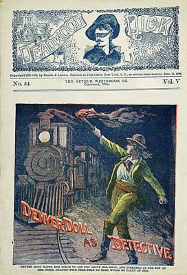 Dime Novel Cover, 1900 Poster by Granger
