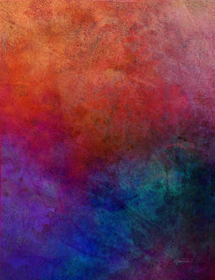 Dimension - Abstract Art Poster