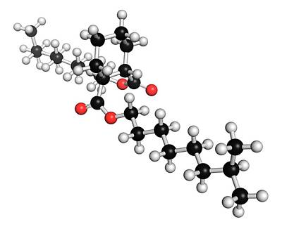 Dinch Plasticizer Molecule Poster by Molekuul