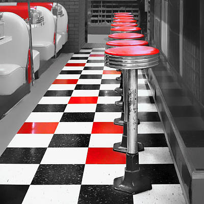 Diner - 1 Poster by Nikolyn McDonald