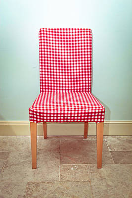 Dining Chair Poster by Tom Gowanlock