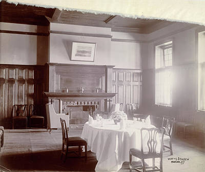 Dining Room Poster by British Library
