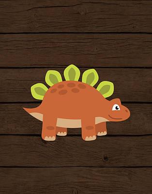 Dinosaur Wood IIi Poster by Tamara Robinson