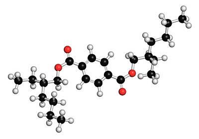 Dioctyl Terephthalate Plasticiser Poster by Molekuul