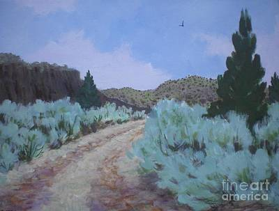 Poster featuring the painting Dirt Road by Suzanne McKay