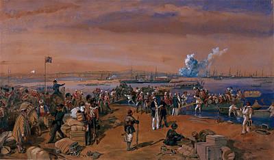Disembarkation - Kerch, 24 May 1855 Poster
