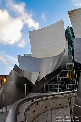 Poster featuring the photograph Disney Hall by Gandz Photography