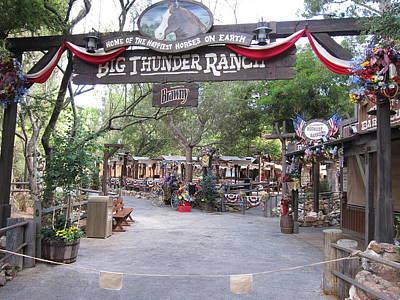 Disneyland Park Anaheim - 121227 Poster by DC Photographer