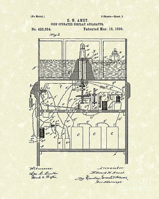 Display Apparatus 1890 Patent Art Poster