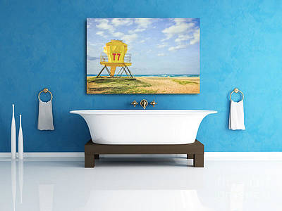 Displaying Fine Art Photography Poster