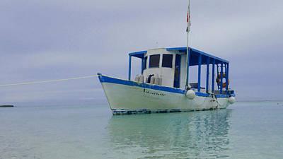 Dive Boat Poster