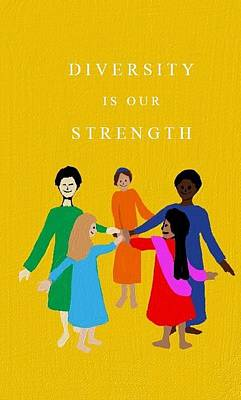 Diversity Is Our Strength Poster