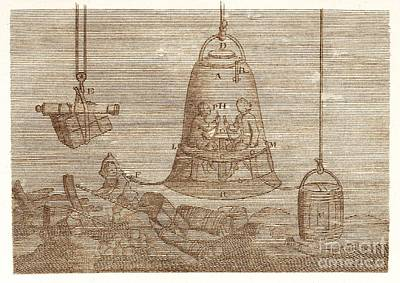 Diving Bell Poster by David Parker