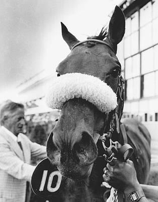 Dixieland Band Vintage Horse Racing Poster