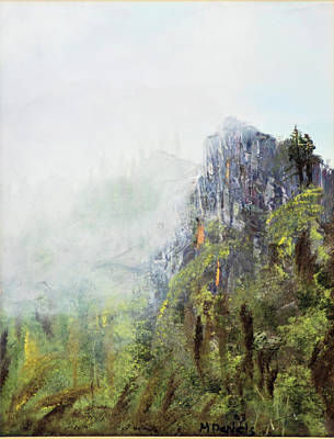 Poster featuring the painting Dixville Notch Nh by Michael Daniels