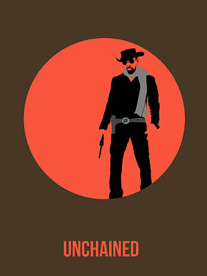 Django Unchained Poster 1 Poster by Naxart Studio