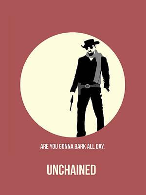 Django Unchained Poster 2 Poster by Naxart Studio