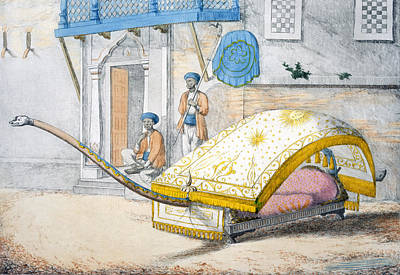 Djehalledar, Or Canopied Bed Conveyance Poster