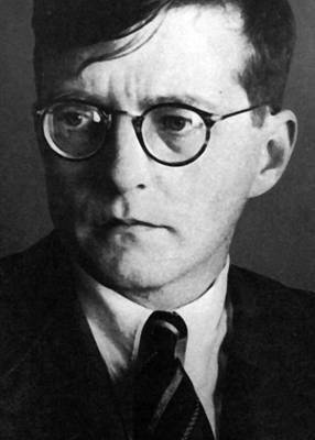 Dmitri Shostakovich Poster by Unknown
