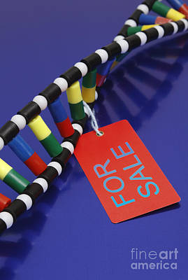 Dna Double Helix, For Sale Poster by GIPhotoStock