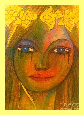 Do Not Cry Painting By Saribelle Rodriguez Poster
