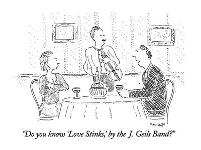 Do You Know 'love Stinks Poster
