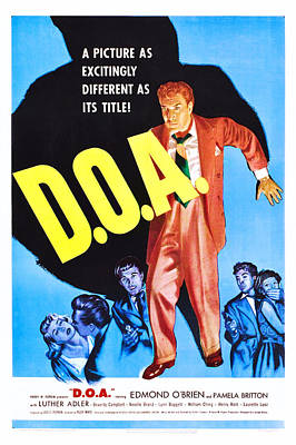 D.o.a., Pamela Britton, Edmond Obrien Poster by Everett