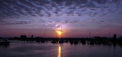 Dock Sunset Poster