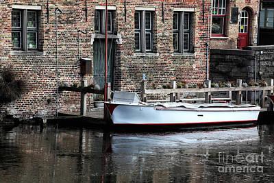 Docked In Bruges Poster