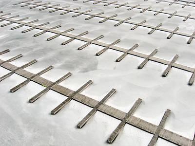 Docks In Winter Poster