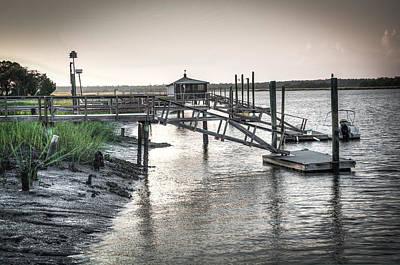 Docks Of The Bull River Poster