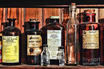 Doctor - Antacid In A Bottle Poster by Paul Ward
