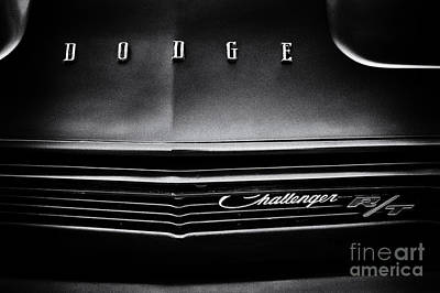 Dodge Challenger R/t Poster by Tim Gainey