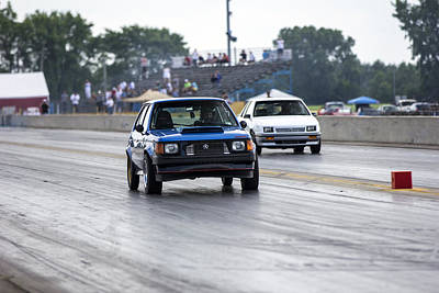 Dodge Omni Glh Vs Rwd Dodge Shadow - Without Times Poster