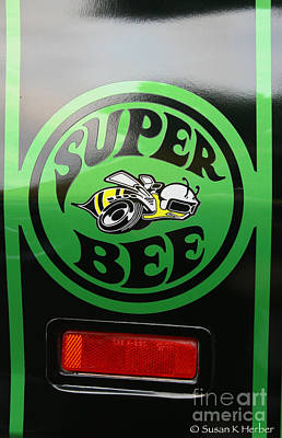 Dodge Super Bee Poster by Susan Herber