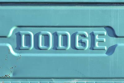 Dodge Truck Tailgate Poster