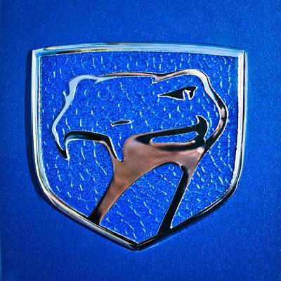 Dodge Viper Emblem -217c Poster by Jill Reger