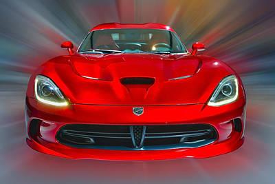 Dodge Viper Srt  2013 Poster