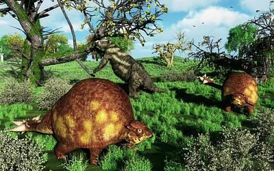 Doedicurus Mammals Poster