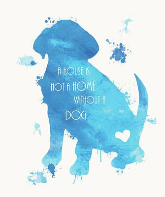 Dog Love Poster by Anna Quach