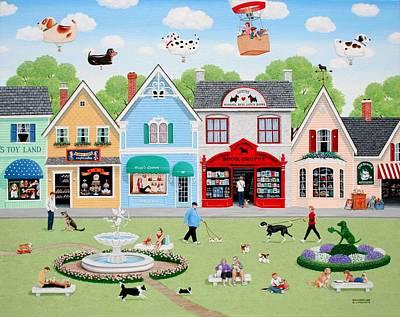 Dog Lovers' Lane Poster