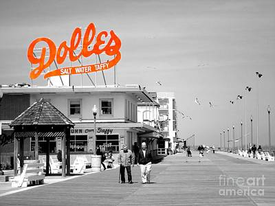 Dolles Salt Water Taffy Poster