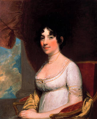 Dolley Payne Madison Poster by Gilbert Stuart