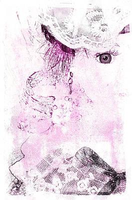 Poster featuring the digital art Dolly by Davina Washington