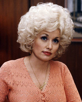 Dolly Parton In Nine To Five  Poster by Silver Screen