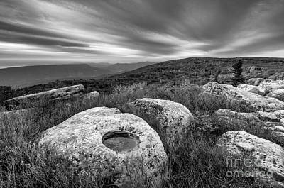 Dolly Sods Wilderness D30019870bw Poster by Kevin Funk